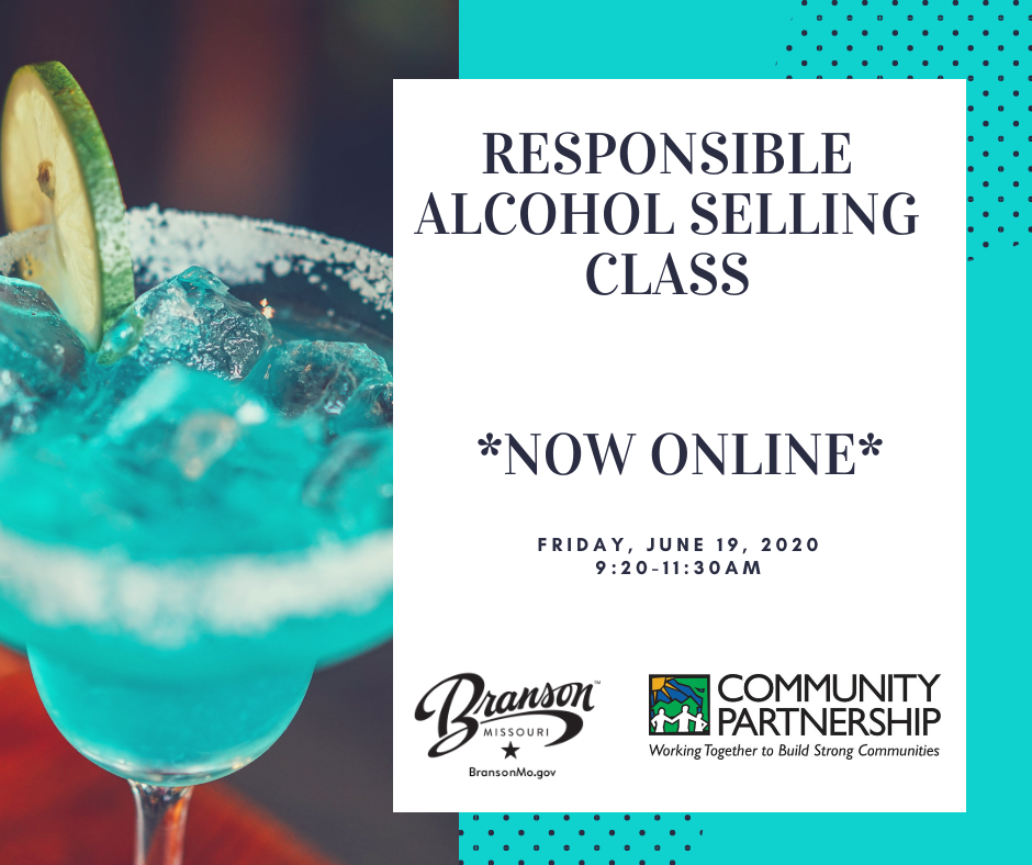 Responsible alcohol selling class June 2020